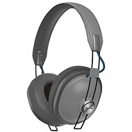 Panasonic RP-HTX80B šedá - Sluchátka s mikrofonem