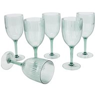 H&L Sklenice na víno 400ml 6 ks Piknik  - Sklenice na bílé víno