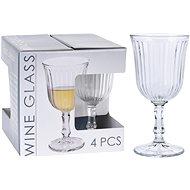 H&L Sklenice na bílé víno 180 ml 4 ks Retro - Sklenice na bílé víno
