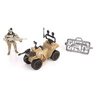 Soldier Force Speed Patrol Taktická čtyřkolka - Figurka