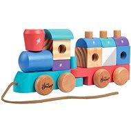 Hamleys Tahací vláček - Dřevěná hračka