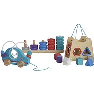 Hamleys Dřevěný set - Didaktická hračka