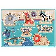 Hamleys Safari vkládačka - Dřevěná hračka