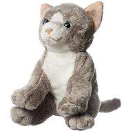 Hamleys Kočka šedobílá - Plyšák