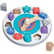 Hamleys Dřevěné hodiny - Didaktická hračka