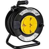 WowME prodlužovací přívod na bubnu 25m IP44 16A/3680W - Prodlužovací kabel