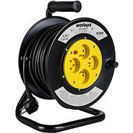 WowME prodlužovací přívod na bubnu 25m 16A/3680W 4 zásuvky - Prodlužovací kabel