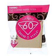 Hario papírové filtry V60-01, nebělené, 100ks - Filtr na kávu