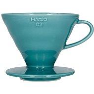 Hario Dripper V60-02, keramický, tyrkysový - Dripper