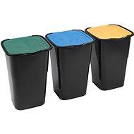 HEIDRUN SADA KOŠŮ NA ODPADKY 3x50L - Odpadkový koš