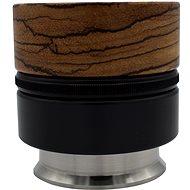 Push Tamper/Coffee Distributor - Zebrano CD/PT: Push Tamper flat nerez 58.6mm - Tamper na kávu