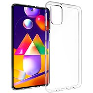Hishell TPU for Samsung Galaxy M31s, Clear - Mobile Case