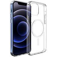 Hishell Magsafe Magnetic TPU pro iPhone 12 / 12 Pro čirý - Kryt na mobil