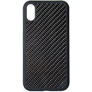 Hishell Premium Carbon pro iPhone Xr černý - Kryt na mobil