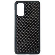 Hishell Premium Carbon pro Samsung Galaxy S20 černý - Kryt na mobil