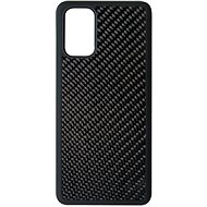 Kryt na mobil Hishell Premium Carbon pro Samsung Galaxy S20+ černý