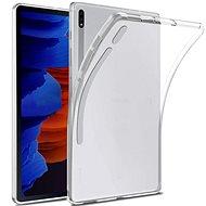 Hishell TPU pro Samsung Galaxy Tab S7+ čirý - Pouzdro na tablet