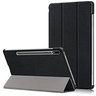 Hishell Protective Flip Cover for Samsung Galaxy Tab S7, Black