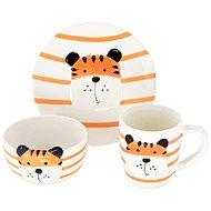 H&L  Animals - Tygr  - Dětská jídelní sada