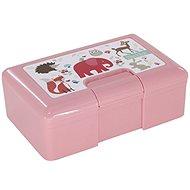 H&L  Animals růžový - Svačinový box