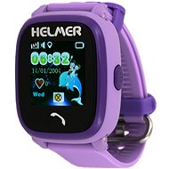 Helmer LK 704 violet - Children's Watch