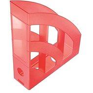 HELIT Economy 75mm červený - Stojan na časopisy