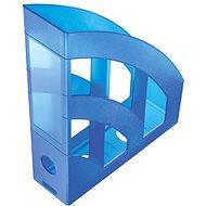 HELIT Economy 75mm modrý - Stojan na časopisy