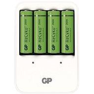 GP PowerBank PB420 + 4AA2500 - Nabíječka