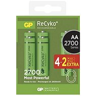 GP ReCyko 2700 (AA) 4+2kspcs - Rechargeable Battery