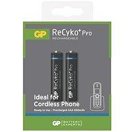 GP ReCyko Pro Cordless (AAA) 650mAh 2pcs - Rechargeable battery