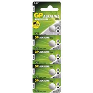 GP LR44 (A76) Alkaline 5pcs in Blister Pack - Button Battery