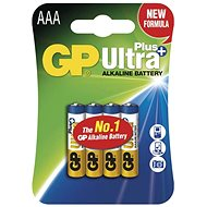 GP Ultra Plus LR03 (AAA) 4ks v blistru - Baterie