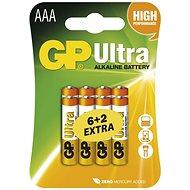 GP Ultra LR03 (AAA) 6+2ks v blistru - Jednorázová baterie