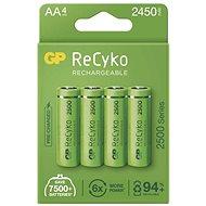 GP ReCyko 2500 AA (HR6), 4 ks - Nabíjecí baterie