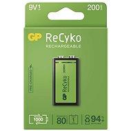 GP ReCyko 200 (9V), 1 ks - Nabíjecí baterie