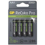 GP ReCyko Pro Photo Flash AA (HR6), 4 ks - Nabíjecí baterie