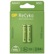 GP ReCyko 1000 AAA (HR03), 2 ks - Nabíjecí baterie