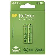 GP ReCyko 650 AAA (HR03), 2 ks - Nabíjecí baterie