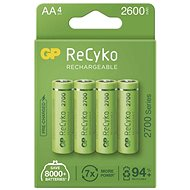 GP ReCyko 2700 AA (HR6), 4 ks - Nabíjecí baterie