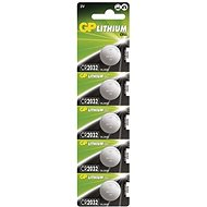 GP CR2032 Lithium 5pcs in Blister Pack - Button Cell