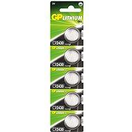 GP CR2430 5ks - Knoflíkové baterie
