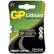 GP CR123A lithiová 1ks v blistru - Jednorázová baterie