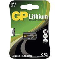 Jednorázová baterie GP CR2 lithiová, 1ks v blistru