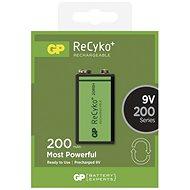 GP ReCyko 9V 200mAh 1ks - Nabíjecí baterie