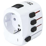 Emos 1.103200 White - Travel Power Adapter