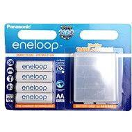 Panasonic eneloop AA 1900mAh 4pcs + case - Rechargeable battery