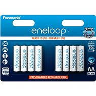 Panasonic eneloop AA 1900mAh 8ks - Nabíjecí baterie