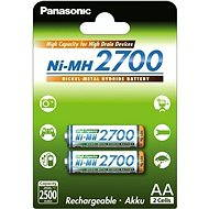 Panasonic NiMH AA 2700mAh 2ks - Nabíjecí baterie