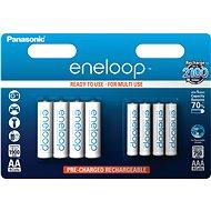 Panasonic eneloop HR6 1900mAh + HR03 750mAh 8BP - Nabíjecí baterie
