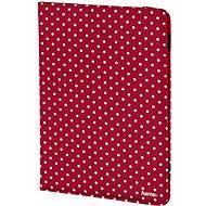 Hama Polka Dot červené s bílými tečkami - Pouzdro na tablet